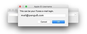 Apple ID & password