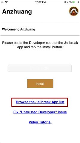 Browse applist