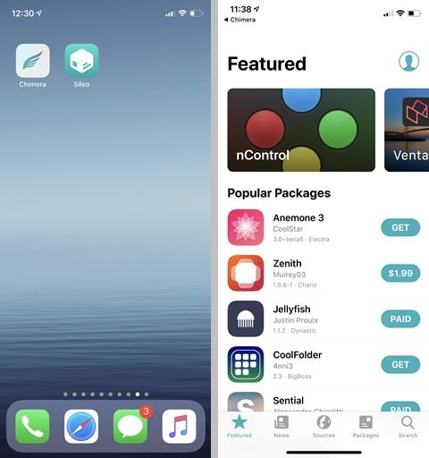 Chimera Jailbreak [Updated for iOS 12 4]