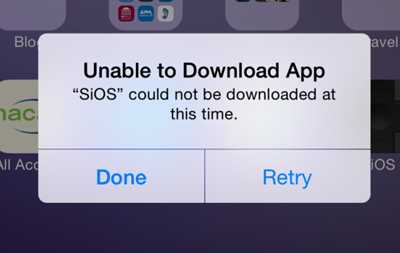 unable to download
