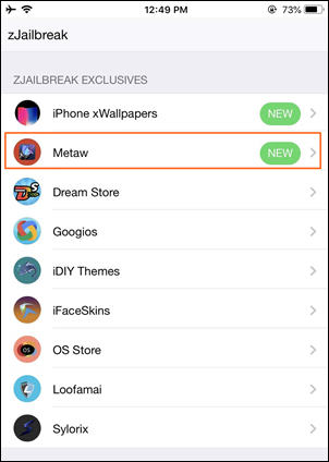 Cydia Impactor and Drag the IPA