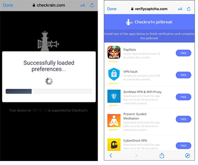 Checkrain Jailbreak [updated for iOS 13 3]