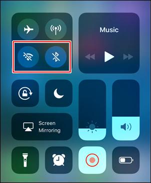 CC On & Off Cydia tweak for iOS 14.2