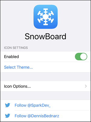 Snowboard for iOS 14.2