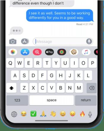 Emoji bar