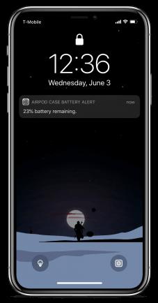 PrcentNotify iphone jailbreak tweak