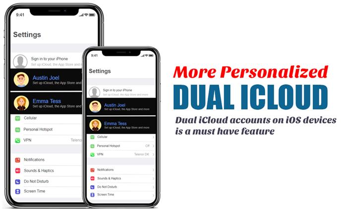 iOS 15 duel iCloud