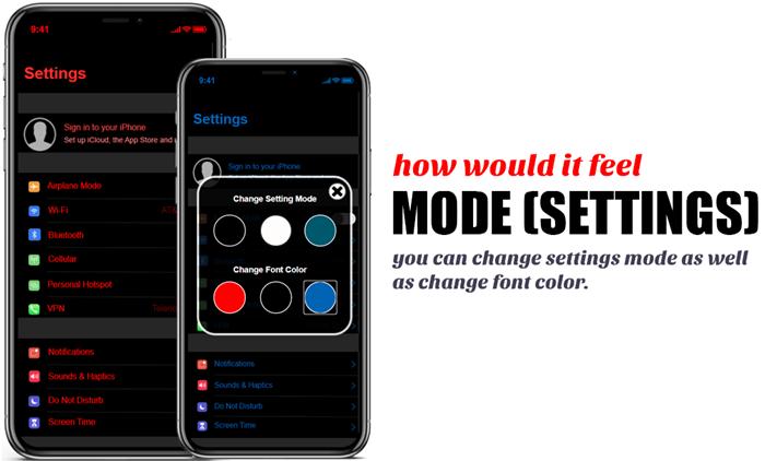 iOS 15 mode