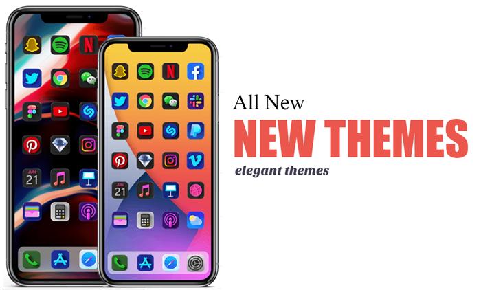 iOS 15 New themes