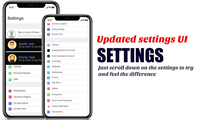 iOS 15 settings