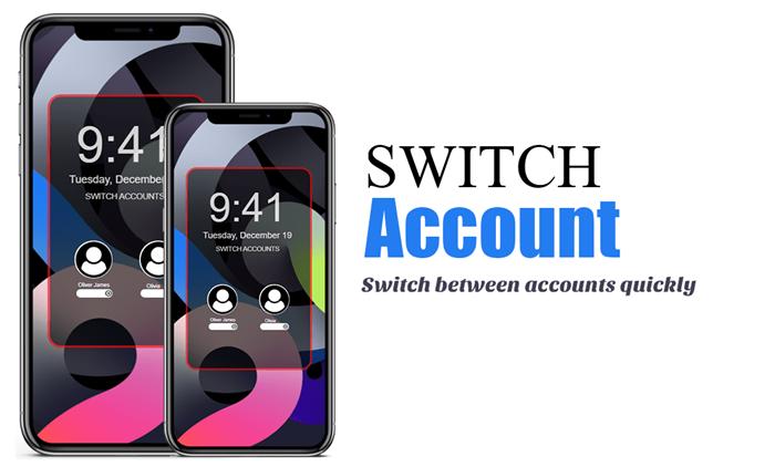 iOS 15 Switch account