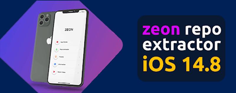 Zeon repo extractor for iOS 14.8